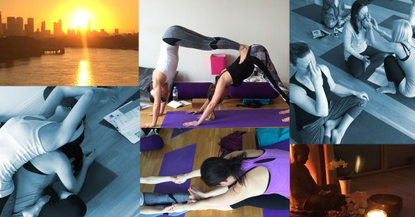 Yoga Teacher training at The well being Yoga school